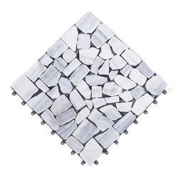 يتيح تجهيز شرفة بركة حجارة [تيل فلوور] يفرش أردواز خارجيّة فناء خلفيّ حجارة [دكينغ] قرميد [30إكس30]