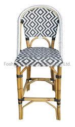 Открытая мебель Рустак Париж Бистро Rattan Металлические стулья