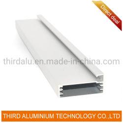 현대 디자인 알루미늄 유리제 문 MDF 부엌 찬장 손잡이 단면도 또는 찬장 문틀 단면도