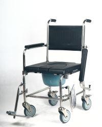 스테인리스 Commode 의자, 51 Cm 넓은 PU 시트, 빠른 임명은, 쇼 의자, 화장실 의자 작동한다