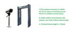 Bereichs-intelligenter Karosserien-Temperatur-Screening-Zugriff mit Tür