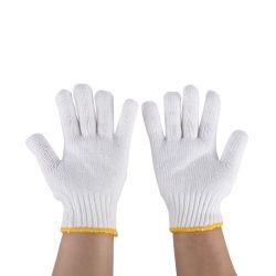 Los fabricantes 500g de algodón de lana gruesa de seda teñido de hilados tejidos duraderos Guantes de seguro de la mano de obra