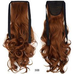 Toda Wendyhair rabo-de-venda pedaço de cabelo rabo-de-pêlos sintéticos