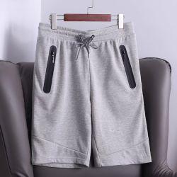 Mens ordinaire ou Camouflage Sweatshorts français d'impression Terry avec ruban collé des poches de pantalons