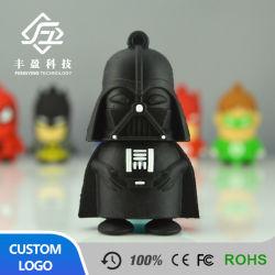 Azionamenti personalizzati dell'istantaneo del USB del fumetto di figura del PVC dell'ordinanza