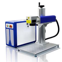 Ручной и отделен от него 1064нм лазерная установка решений Металлический знак с логотипом