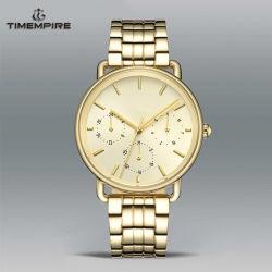 Cronógrafo de moda relojes modernos de la marca personalizada Watch reloj hombre Acero inoxidable (72690)
