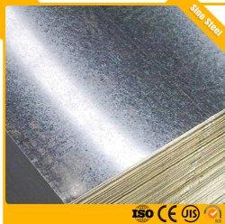 Piatto d'acciaio galvanizzato ricoperto zinco della lamina di metallo di Gi di Dx51d Z40-275g 0.13-2mm