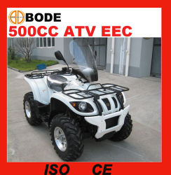 Vierling de met 4 wielen ATV van de Aandrijving van de EEG 500cc voor Verkoop