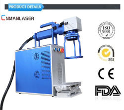 20W 30W 50W Laser-Markierungs-Maschine/Engraver-Gerät für Metall/Plastik/Marke/Schlüsselketten/Feder/Tiermarken-/Ring/Cup/-Fahrrad-Reserve/Firmenzeichen