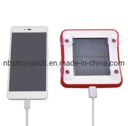 На солнечной энергии портативное зарядное устройство USB использования солнечной энергии на выходе банка