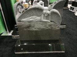 Amerikanisches geschnitztes weinendes Engels-Entwurfs-Granit-Denkmal