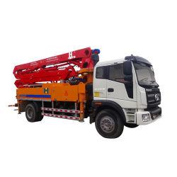 Máquina de concreto de suprimento de fábrica 28m caminhão bomba de betão para a construção