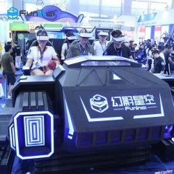R&D de la educación de los juegos de Realidad Virtual 9D simulador de coche Vr