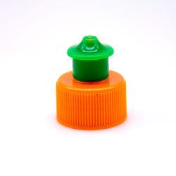Kroonkurk van de Was van de Schotel van China Vloeibare Plastic, De Duw GLB, Plastic Schroefdop van de Trekkracht