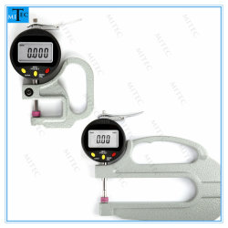 La Chine usine cadran électronique numérique de l'indicateur d'épaisseur 0.001/0.01mm