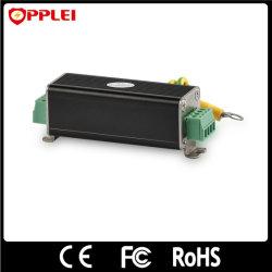 Signal de ligne de commande de connecteur RS232 avec protecteur de surtension sur rail DIN