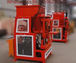 A FC2-10 Massa comprimido Hidráulico Bloquear linha de produção de tijolos de barro da Máquina Totalmente Automática do intertravamento de máquina para fabricação de tijolos de barro