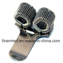 Triple porte-stylet en métal avec clip de poche