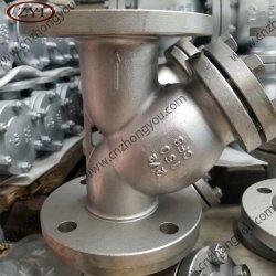 ANSI roestvrij staal CF8m geflensde uiteinden Industriële Y-zeef