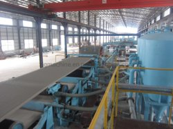 2019 칼슘 규산 기판 제조 기계 섬유 시멘트 보드/제조 기계 생산 라인