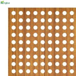 Шпона/меламина/покраске/HPL перфорированные деревянные Акустические панели