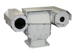 El uso de vehículo de la cámara de seguridad térmica de infrarrojos PTZ