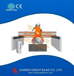 De Scherpe Machine van de Steen van het Type van Brug van multi-schijven voor Graniet