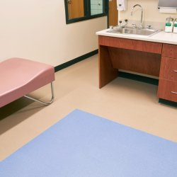 Rouleau de plancher écologique en vinyle PVC pour le design intérieur