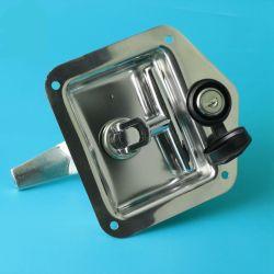 Материал из нержавеющей стали в форме квадрата погрузчика с помощью наружного зеркала заднего вида лечения фиксатор защелки панели автомобиля