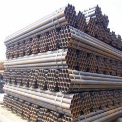 Tuyau en acier au carbone SRÉ ronde ASTM A53 gr. B pour la main courante