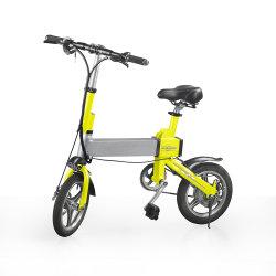 14-Inch 36V 350W CC sans balai de vélo électrique pliant avec affichage LED