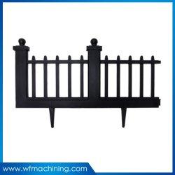 Q235 Arena valla de hierro fundido Fundición de piezas decorativas para la puerta de hierro