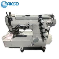 Aghi Sk-500 3 e macchina per cucire industriale dell'interruttore di sicurezza ad alta velocità dei 5 filetti