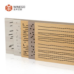 Music Studio Art Wal Painel Acústico Painel de parede acústica de madeira placa MDF