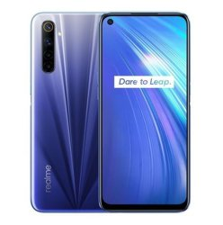 Realme 6 PRO 6PRO 8GB de RAM 128 GB de ROM Versión Global Móvil Snapdragon 720g de carga del flash de 30W 64MP Cámara enchufe europeo Nfcellphone