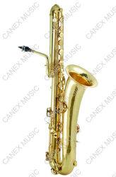 Bas Saxofoon (sabb-l) /Saxophone/Saxophone met Geval