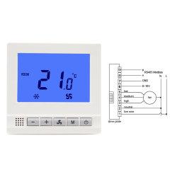 Meilleur Termostato chauffage / refroidissement ventilateur du contrôleur numérique de la température du thermostat de pièce du système de l'unité de bobine