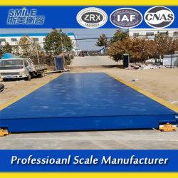 3*18m Scs-120ton Truck balanças para pesagem automática do veículo confiável
