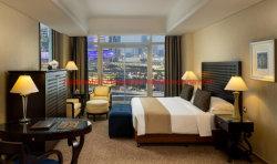 Königliche Schlafzimmer-Möbel-gesetzter König Size Bed mit Gewebe-Freizeit-Stuhl für das fünf Stern-Hotel