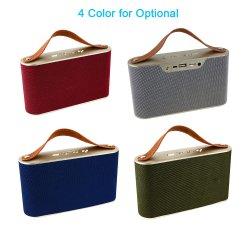 새로운 디자인 싸게 휴대용 소형 무선 Bluetooth 스피커 가정 극장 사운드 박스