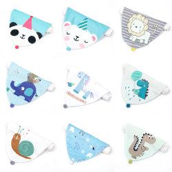 El verano Cartoon Bola de pelo de animal bebé toalla sudor sudor bebé toalla toalla gasa niños Artículos de bebé