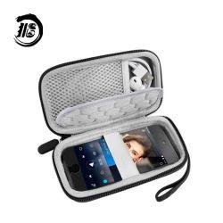 Hard Shell protectora EVA Caso Caja de almacenamiento para los auriculares del iPod Touch Banco de potencia