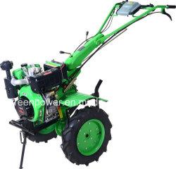 جرار بمحرك ديزل 10HP مع غطاء خفيف من الطاقة الخضراء
