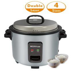 Kochen 48 Tassen Trockenreis, um voll 23L Reis zu machen Neue elektrische Catering-Ausrüstung mit starken Doppelwand Körper Commercial Qualität Hohe Qualität