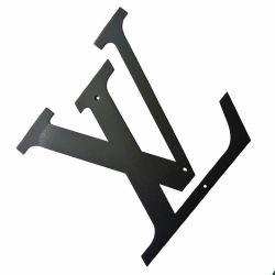 Het Bespuiten van het Knipsel van de Laser van Customzied van het Metaal van het Blad van het Merk van Thaizhun