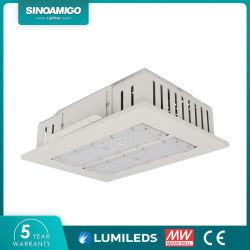 De openlucht LEIDENE van de Macht van de Verlichting Industriële Hoge Lamp van de Luifel voor Benzinestation/Metro Post/Supermarkt
