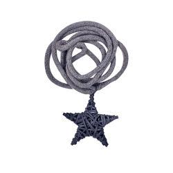 磁石のカーテンのTiebacksロープの飾り布Tiebacks