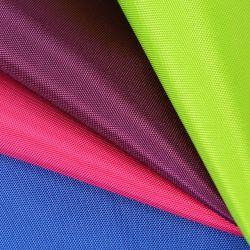 Tessuto rivestito di PU/PVC RPET 150d Oxford/tessuto rispettoso dell'ambiente del sacchetto