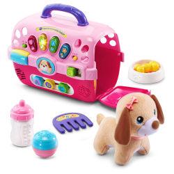 卸し売り音楽的な犬の獣医の演劇一定のプラスチックペットキャリアの家キットの一定のおもちゃ